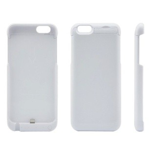Rapid Battery Case for Iphone 6 M64C 5800 mAh - White (Extra USB Output)