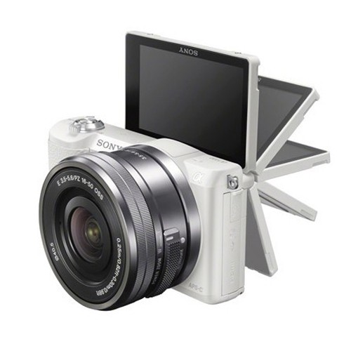 Sony Alpha a5100 Mirrorless Digital Camera - White