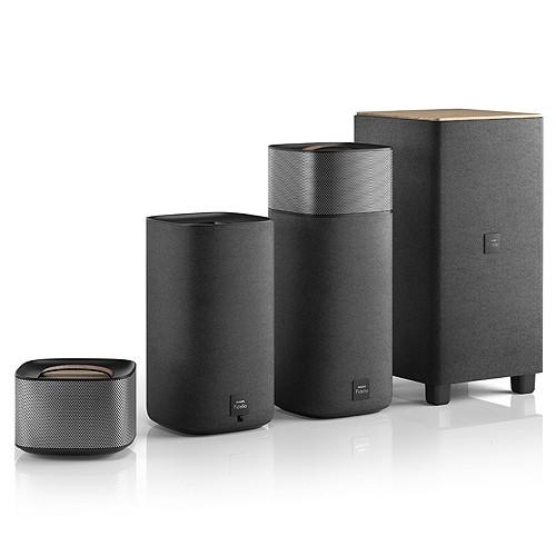 Philips Home Theater Fidelio E5 Wireless Surround on Demand CSS7235Y - Black