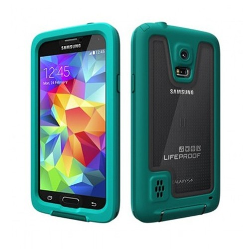 LifeProof Fre Case for Samsung Galaxy S5 - Teal/Clear/Dark Teal