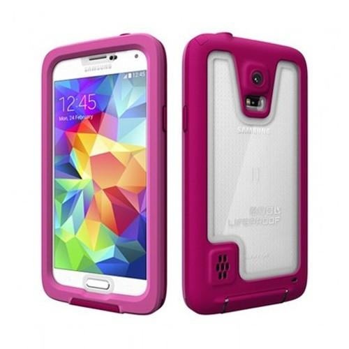LifeProof Fre Case for Samsung Galaxy S5 - Magenta/Clear/Dark Magenta