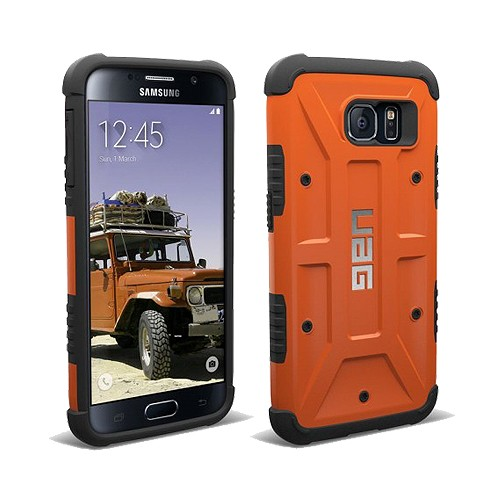 Urban Armor for Samsung Galaxy S6 Composite Case - Rust/Black