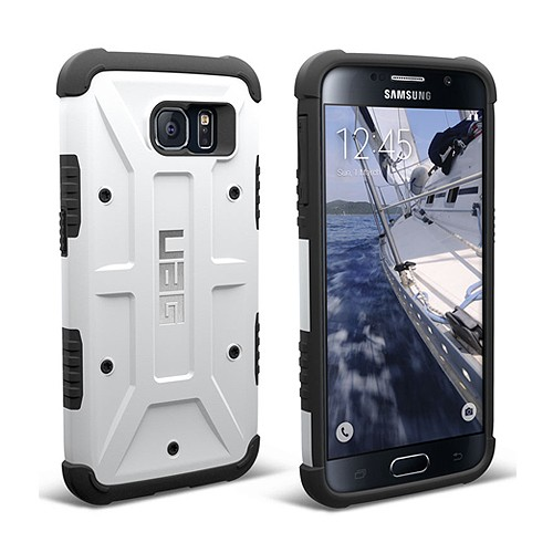 Urban Armor for Samsung Galaxy S6 Composite Case - Ice/Black
