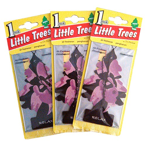 Little Trees Pengharum Ruangan (3 packs) - Relax