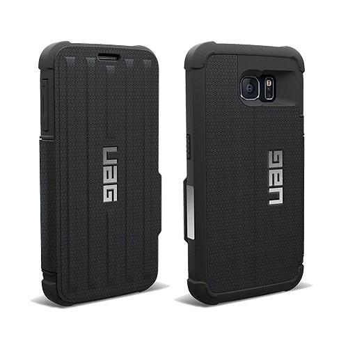 Urban Armor for Samsung Galaxy S6 Folio Case - Black/Black