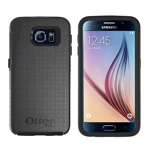 Otterbox Symmetry Series for Samsung Galaxy S6 - Slate Gridlock Graphic