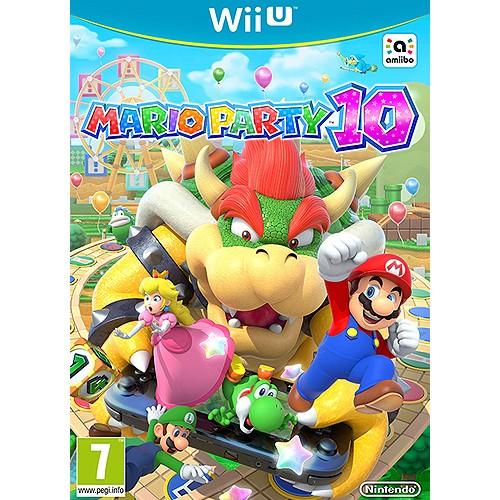 Nintendo Wii Game Mario Party 10