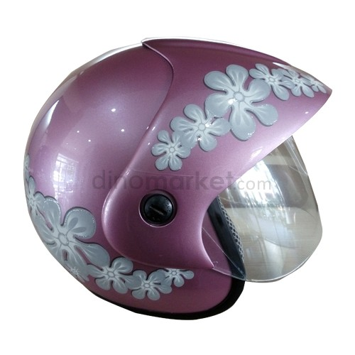 SHC Helm 105 Flower - Pink Var