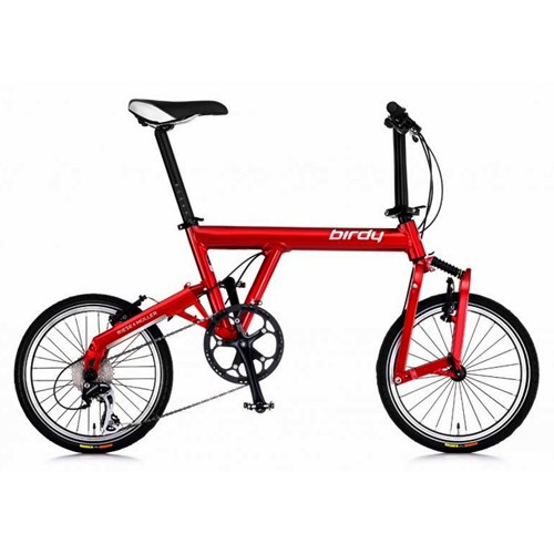 Birdy Cycle New Classic Sepeda Lipat - Red