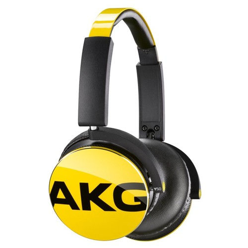 AKG On-Ear Headphone with In-Line One-Button Y50 - Yellow