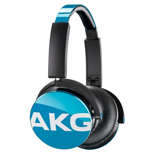 AKG On-Ear Headphone with In-Line One-Button Y50 - Teal