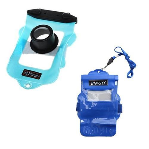 Bingo Camera Clipper Lock WP01-10 - Blue + Bingo HP Zipper WP06-11- Blue