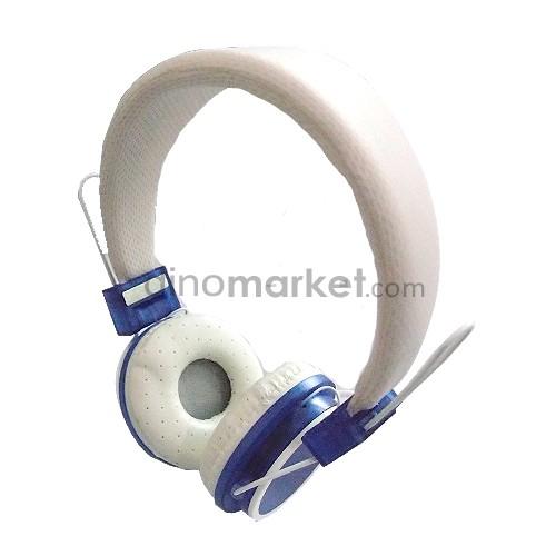 Headphone Color Fashion TV-02 - Blue