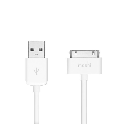 Moshi USB Cable for iPod / iPhone / iPad - White