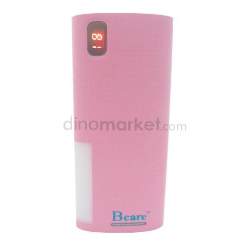 harga Bcare Mpowerbank 15000 mAh with Emergency Lamp - Pink Dinomarket.com