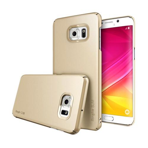 Rearth Galaxy S6 Edge+ (Plus) Ringke Slim - Royal Gold