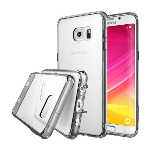 Rearth Galaxy S6 Edge+ (Plus) Ringke Fusion - Smoke Black