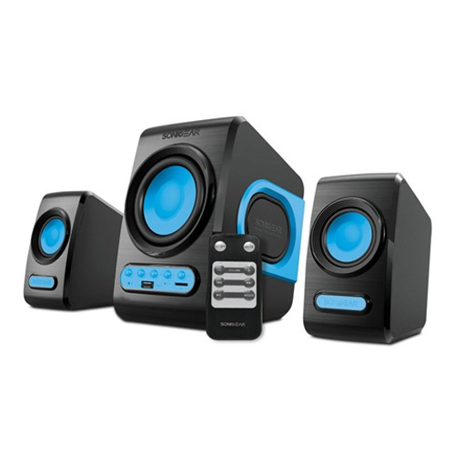 SonicGear Speaker Quatro V - Blue