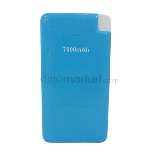 Bcare Power Bank 7.800 mAh Mpowerbank Slim - Blue White