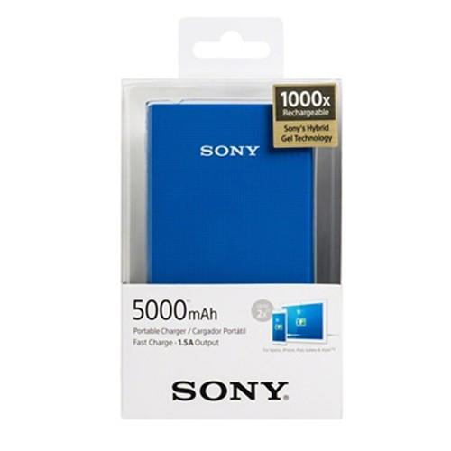 Sony Power Bank CP-V5A-B 5000 mAh - Blue