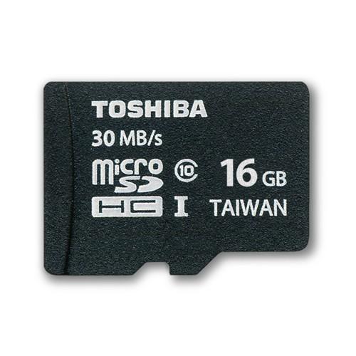 Toshiba Micro SD Class 10 (UHS-1) - 16GB