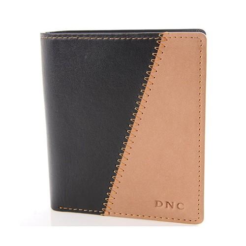 Dompet pria DNC Abram 25.15.02  - Black/Khaki