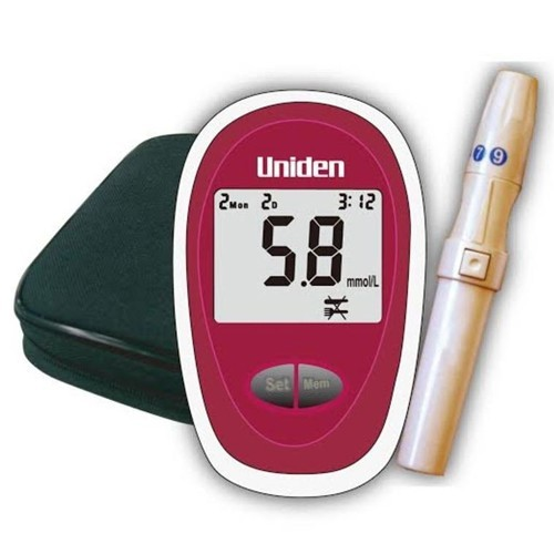 Uniden Blood Glucose Monitor Device AM2401