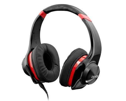 Denon On-Ear Headphone AHD320RDEM - Red
