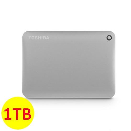 Toshiba Hard Disk Canvio Connect II 3.0 Portable Hard Drive 1TB - Satin Gold