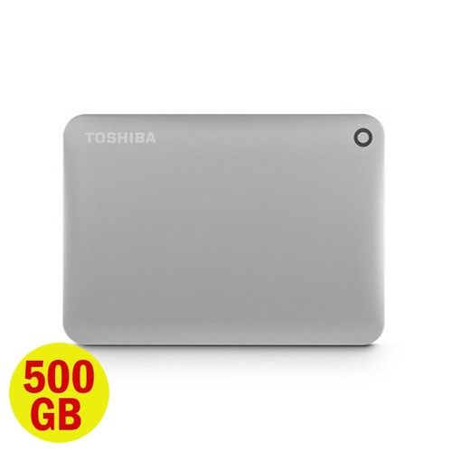 Toshiba Hard Disk Canvio Connect II 3.0 Portable Hard Drive 500GB - Satin Gold