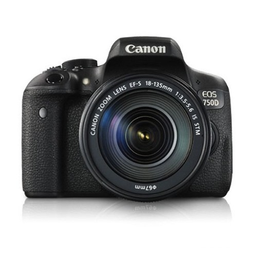 Canon EOS Digital SLR 750D Kit EF-S 18-135mm IS STM