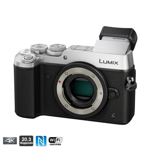 Panasonic Lumix GX8 (Body Only) - Silver