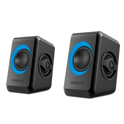 SonicGear Speaker Quatro 2 - Blue