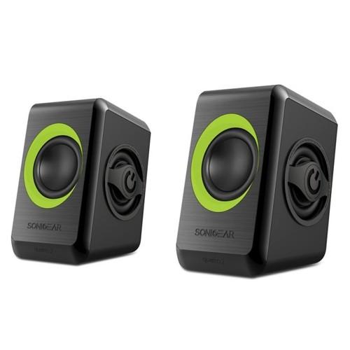 SonicGear Speaker Quatro 2 - Green