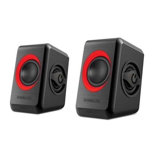 SonicGear Speaker Quatro 2 - Red