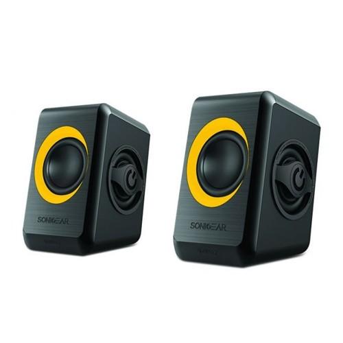 SonicGear Speaker Quatro 2 - Yellow