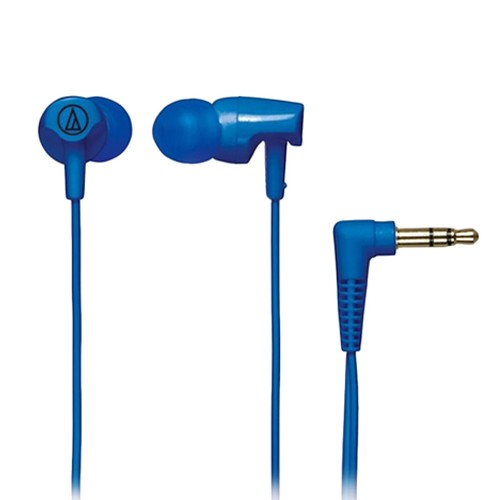 Audio Technica In-ear Headphones ATH-CLR100 - Blue