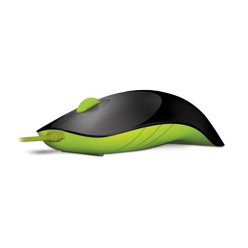 Powerlogic Mouse Shark - Black Green