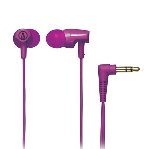 Audio Technica In-ear Headphones ATH-CLR100 - Purple