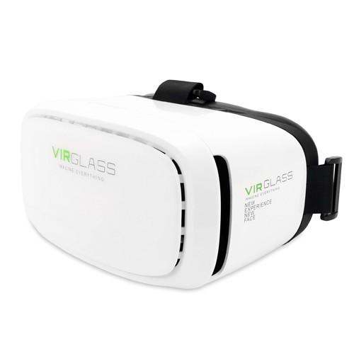 Virglass Virtual Reality Glass VIR-V2 - White