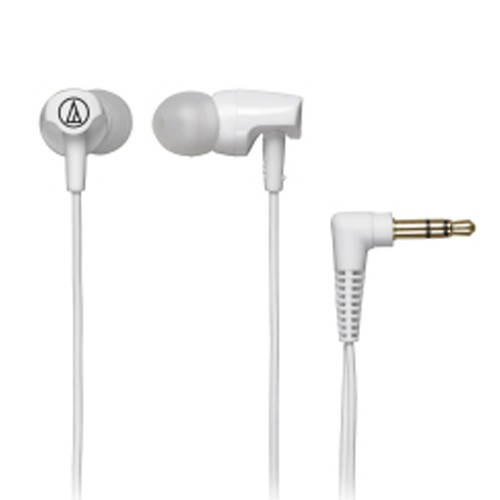 Audio Technica In-Ear Headphones ATH-CLR100 - White