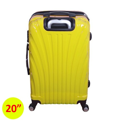 Travel With Us Koper Hard Case Clamsheel 20 Inch - Yellow