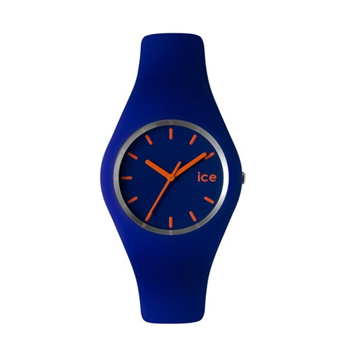 Ice Watch Jam Tangan Unisex - Blue - Orange -ICE-432052 SLIM ICE.BE.U.S.12