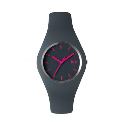 Ice Watch Jam Tangan Unisex - Gray - Pink -ICE-432032 SLIM ICE.GY.U.S.12