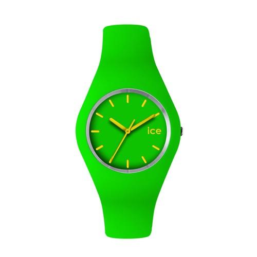 Ice Watch Jam Tangan Unisex - Green - Yellow - ICE-432042 SLIM ICE.GN.U.S.12