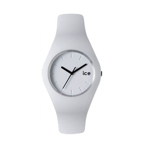 Ice Watch Jam Tangan Unisex - White - Black -ICE-432022 SLIM ICE.WE.U.S.12