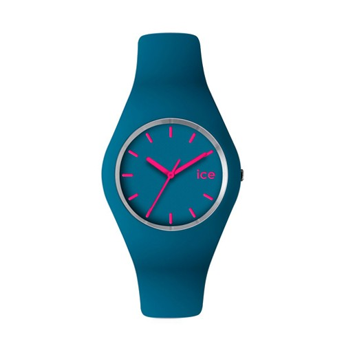 Ice Watch Jam Tangan Unisex - Sky blue - Pink - ICE-432982 SLIM ICE.SB.U.S.12