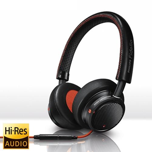 Philips Headphone Fidelio M1MKII with Microphone - Black