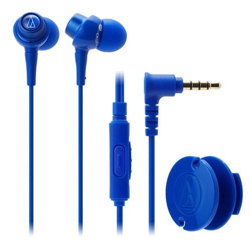 Audio Technica In-ear Headphone w/Mic ATH-CKL203iS - Blue