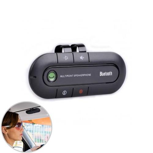 Bluetooth Hands Free Call Car Kit BT27 - Black